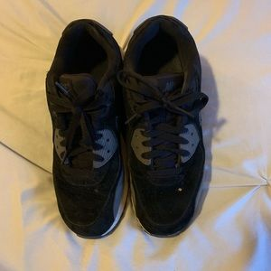 Nike Shoes - black Suede nike air max